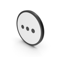 Icon Three Dots PNG & PSD Images