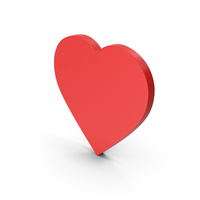 Symbol Heart Red PNG & PSD Images