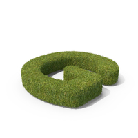 Grass Capital Letter G PNG & PSD Images