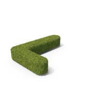 Grass Capital Letter L PNG & PSD Images