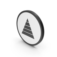 Icon Pyramid Graph PNG & PSD Images