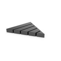 Black Symbol Pyramid Graph PNG & PSD Images
