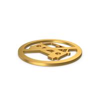 Gold Symbol No Car PNG & PSD Images