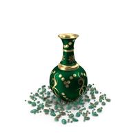 Vase Pot Golden Design PNG & PSD Images