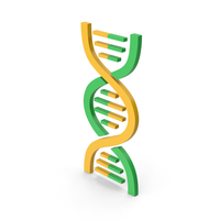 Symbol DNA Green Yellow PNG & PSD Images