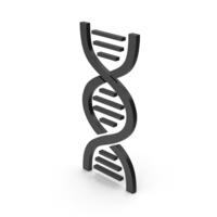 Symbol DNA Black PNG & PSD Images