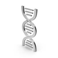 Symbol DNA Silver PNG & PSD Images