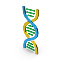 DNA Metallic Colored PNG & PSD Images
