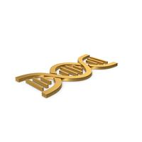 Gold Symbol DNA PNG & PSD Images
