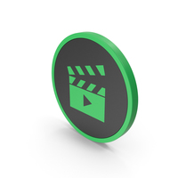 Icon Movie Green PNG & PSD Images