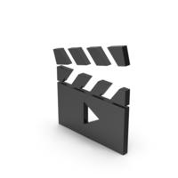 Symbol Movie Black PNG & PSD Images