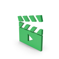 Symbol Movie Green PNG & PSD Images