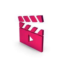 Symbol Movie Metallic PNG & PSD Images