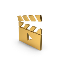 Symbol Movie Gold PNG & PSD Images