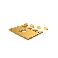 Gold Symbol Movie PNG & PSD Images