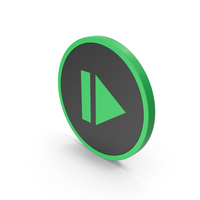 Icon Resume Button Green PNG & PSD Images