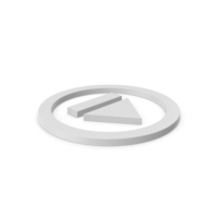 Resume Button Symbol PNG & PSD Images