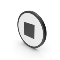 Icon Stop Button PNG & PSD Images