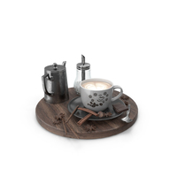 Coffee Set PNG & PSD Images