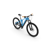 Blue G2 Mountain Bike PNG & PSD Images