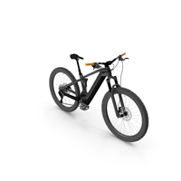 Black Mountain Bike PNG & PSD Images