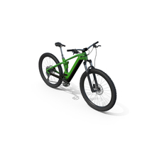 Spinner Green Mountain Bike PNG & PSD Images