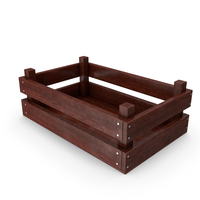 wooden case 03 pixel 02 PNG & PSD Images