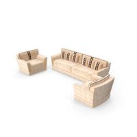 Gl Studio Mobili Di Italia Sofa Living Room Set PNG & PSD Images