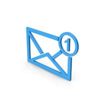 Symbol Missed Message Blue PNG & PSD Images