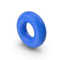 Torus Blue PNG & PSD Images
