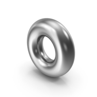 Torus Silver PNG & PSD Images