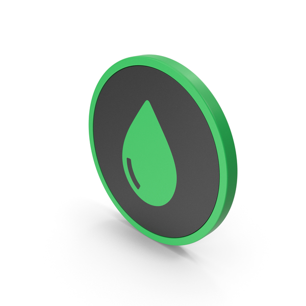 Icon Drop Green PNG & PSD Images