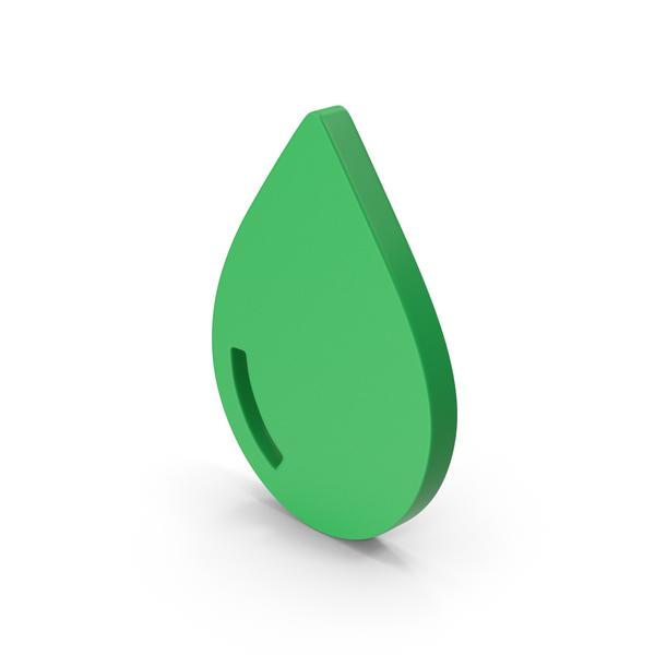 Symbol Drop Green PNG & PSD Images