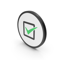 Icon Check Box Green PNG & PSD Images