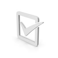 Symbol Check Box PNG & PSD Images