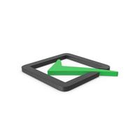 Green Symbol Check Box PNG & PSD Images