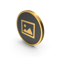 Gold Icon Image PNG & PSD Images
