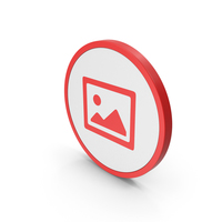 Icon Image Red PNG & PSD Images