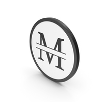 Icon Letter M PNG & PSD Images