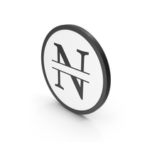Icon Letter N PNG & PSD Images