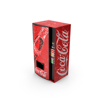Cola Vending Machine PNG & PSD Images