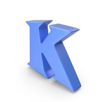 K Blue PNG & PSD Images