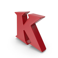 K Red PNG & PSD Images