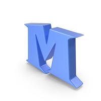 M Blue PNG & PSD Images