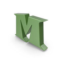 M Green PNG & PSD Images