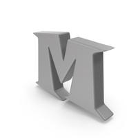 M Grey PNG & PSD Images