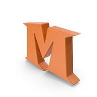 M Orange PNG & PSD Images
