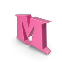 M Pink PNG & PSD Images