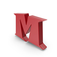 M Red PNG & PSD Images