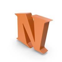 N Orange PNG & PSD Images